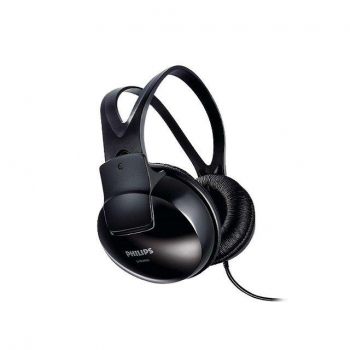 Auriculares Philips SHP1900/ Jack 3.5/ Negros