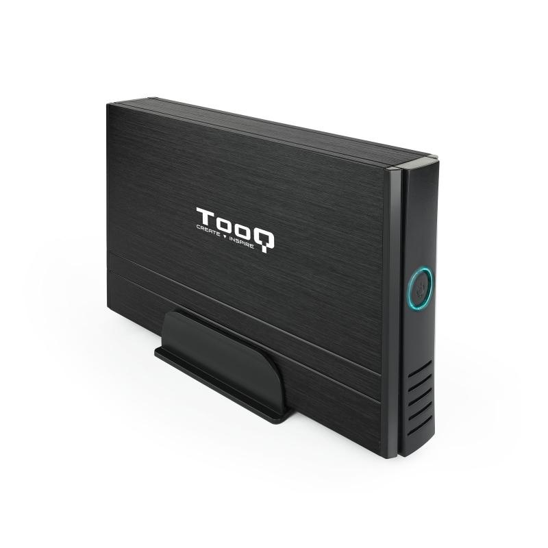 """TooQ TQE-3520B caja externa HD 3.5""""IDE/SATA3 Negra"""