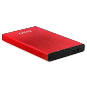"""Tooq TQE-2527R Caja HDD 2.5"""" USB 3.1 Gen1/USB 3.0"""