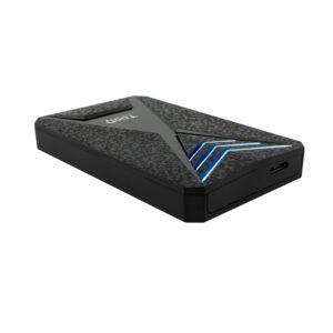 """Tooq TQE-2550BL Caja HDD 2.5"""" USB 3.1Gen1 LED Azul"""