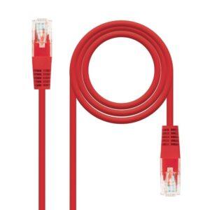 Nanocable Latiguillo Categoria 5E UTP 1 M Rojo