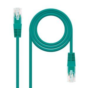 Nanocable Latiguillo Cat. 5E UTP RJ45 0,5 M Verde