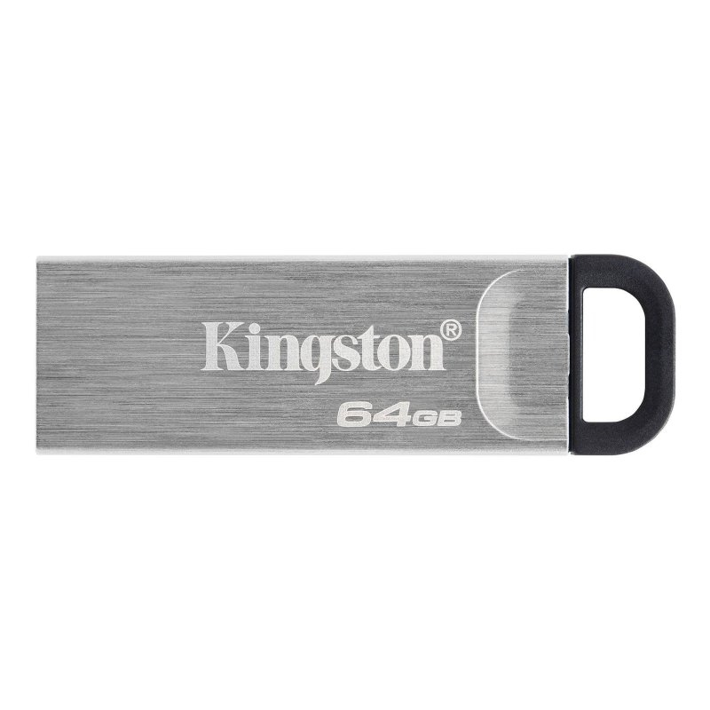 Kingston DataTraveler DTKN 64GB USB 3.2 Gen1 Plata