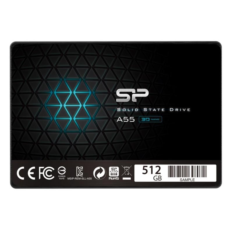 """SP A55 SSD 512GB 2.5"""" 7mmásata3"""