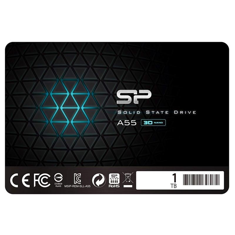 """SP A55 SSD 1TB 2.5"""" 7mmásata3"""