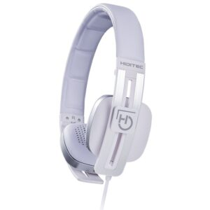 Hiditec Auricular+Mic WHP010002 Wave Blanco