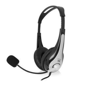 EWENT EW3562 Auriculares + microfono St?reo negro