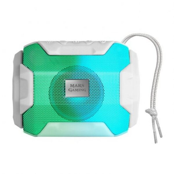 Mars Gaming Altavoz BLUETOOTH RGB MSBAX 10W WHITE