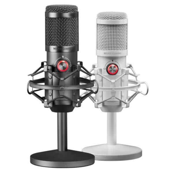 Mars Gaming PRO STUDIO microfono MMICX 96KHZ Black