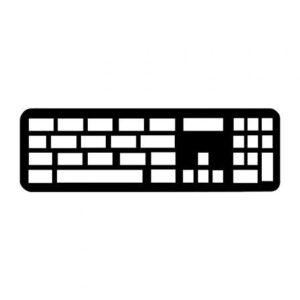 Teclado Inalámbrico Apple Magic Keyboard/ con Teclado numérico/ Plata
