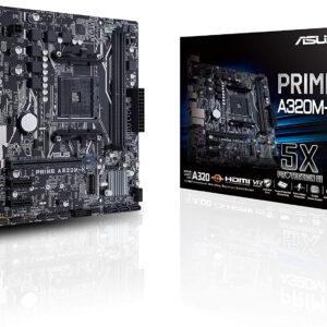 PLACA BASE ASUS MB PRIME A320M-K Zócalo AM4 Micro ATX AMD A320