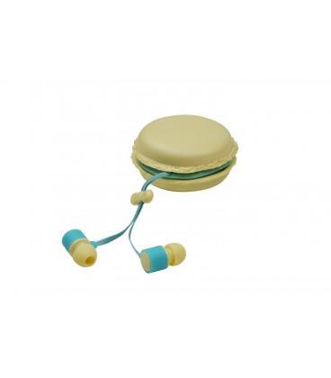 Auriculares Intrauditivos Jocca 9721/ Jack 3.5/ Beige