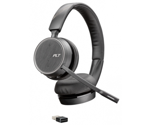 Auriculares inAlambricos Plantronics Voyager 4220 UC/ con microfono/ Bluetooth/ USB/ Negros