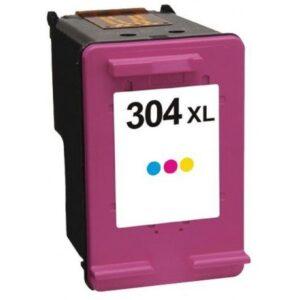 HP Cartucho de tinta 304XL Color