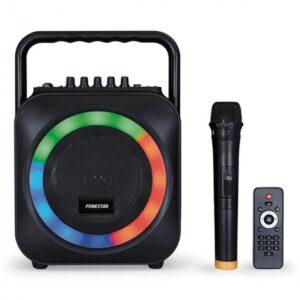 Altavoz Portable con Bluetooth Fonestér BOX-35LED/ 35W/ 1.0