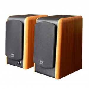 Altavoces con Bluetooth Woxter Dynamic Line DL-610 Wooden/ 180W/ 2.0