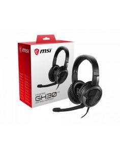 MSI Immerse GH30 V2 Auriculares díadema Conector de 3,5 mm Negro