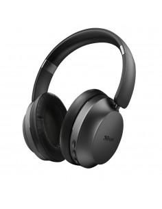 Auriculares inAlambricos Trust Eaze 23550/ con microfono/ Bluetooth/ Negros